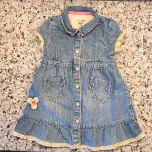 🎉 5/$15 genuine kids Denim dress toddler